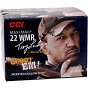 CCI Maxi-Mag Troy Landry .22 WMR Jacketed Hollow Point Rifle Ammunition – 40 Grain