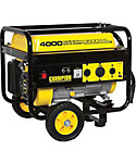 Champion 4000 Watt Portable Generator With Wheels