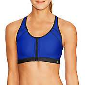 Champion Women's Zip Sports Bra