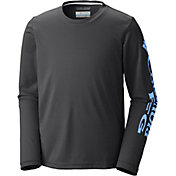 Columbia Boys' PFG Terminal Tackle Long Sleeve Shirt