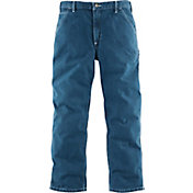 Carhartt Men's Washed Denim Work Dungarees
