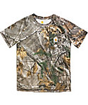 Carhartt Boys' Force Performance Camo Pocket T-Shirt