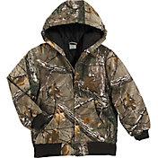 Carhartt Youth Camo Active Jac Jacket