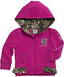 Carhartt Infant Girls' Camo Fleece Full Zip Hoodie