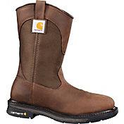 "Carhartt Men's 11"" Square Toe Wellington Soft Toe Work Boots"