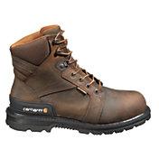Carhartt Men's 6'' Heel Stabilizer Safety Toe Waterproof Work Boots