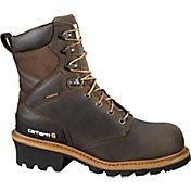 "Carhartt Men's Logger 8"" Waterproof Safety Toe Work Boots"