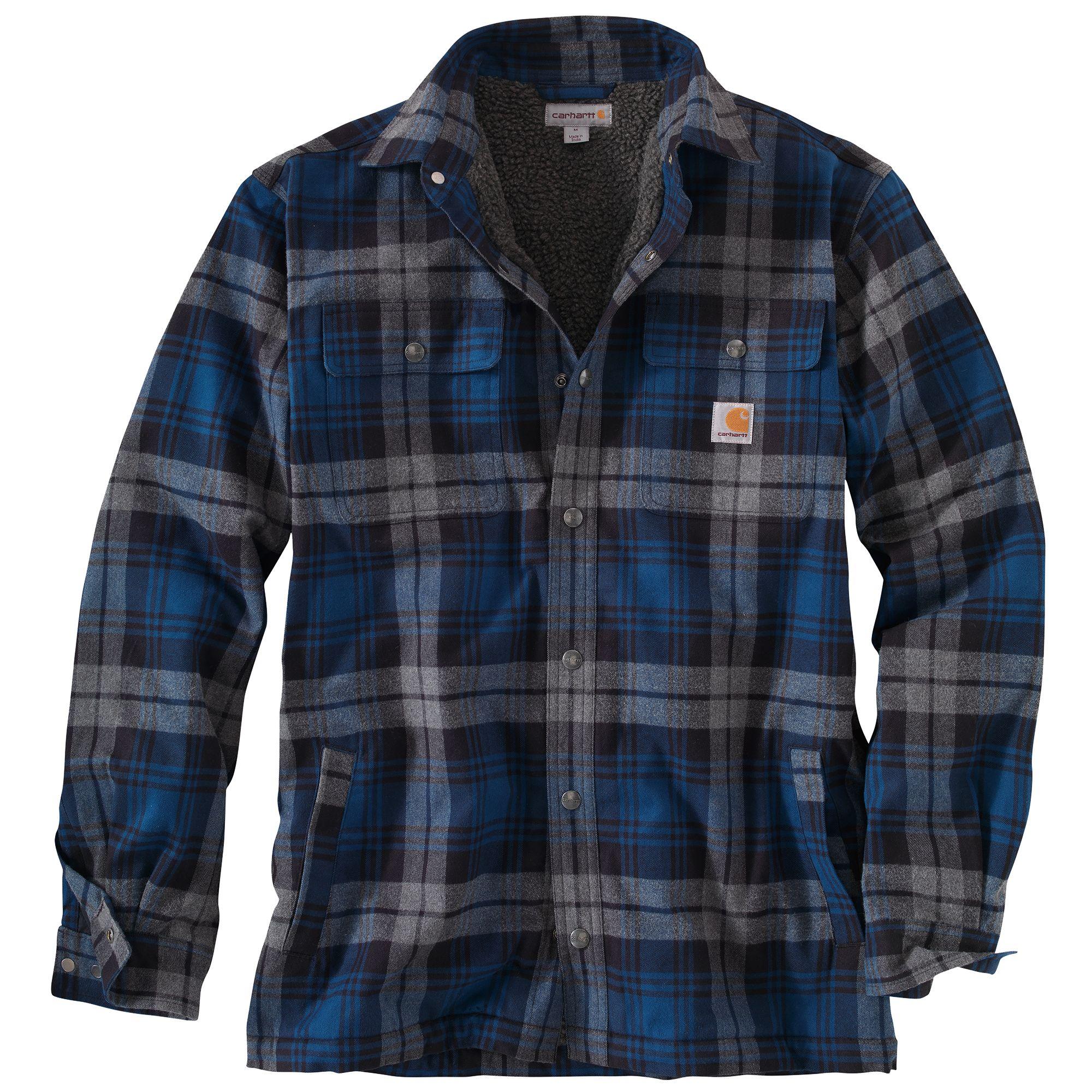 Carhartt Men's Hubbard Sherpa-Lined Shirt Jacket | Field & Stream
