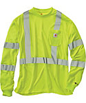Carhartt Men's Force High-Visibility Class 3 Long Sleeve T-Shirt