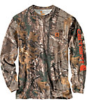 Carhartt Men's Graphic All Over Camo Hunting T-Shirt