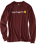 Carhartt Men's Logo Long Sleeve T-Shirt