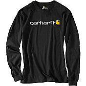 Carhartt Men's Signature Logo Long Sleeve Shirt - Big & Tall