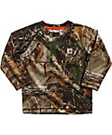 Carhartt Toddler Boys' Force Realtree Long Sleeve T-Shirt