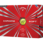 Callaway Chrome Soft Yellow Golf Balls