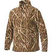 Drake Waterfowl Men's MST Camo Camp Fleece Pullover