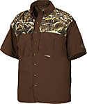 Drake Waterfowl Men's Two-Tone Vented Wingshooter's Hunting Shirt
