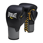 Everlast C3 Pro Leather Laced Training Gloves