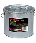 Frabill Galvanized 2-Piece Floating Bucket – 8 Quart