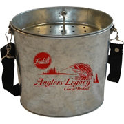 Frabill Galvanized 2 Quart Wade Bucket