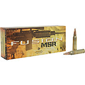 Federal Fusion MSR .223 Rem Spitzer Boat Tail Rifle Ammunition – 62 Grain