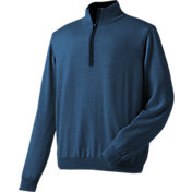 FootJoy Men's End on End Merino Half-Zip Golf Pullover