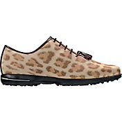 FootJoy Women's Tailored Collection Leopard Print Golf Shoes