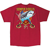 Guy Harvey Men's Marine Shark T-Shirt
