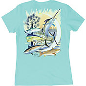 Guy Harvey Women's Palmetto Moon T-Shirt