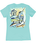 Guy Harvey Women's Palmetto Moon Short Sleeve Shirt