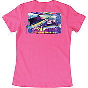 Guy Harvey Women's Two Sails Underwater T-Shirt