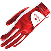 Glove It Women's Red Clear Dot Golf Glove