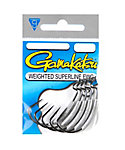 Gamakatsu Weighted Superline EWG Worm Hook - 5 Pack