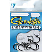 Gamakatsu Live Bait Hooks with Solid Ring