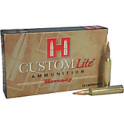 Hornady Custom Lite Rifle Ammo – 20 Rounds