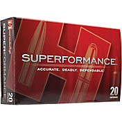 Hornady Superformance Varmint Rifle Ammo – 20 Rounds