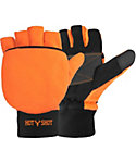 Hot Shot Men's Bulls-Eye Insulated Pop-Top Gloves