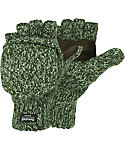 Hot Shot Men's The Sentry Ragg Wool Fingerless Gloves