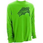 Huk Men's Performance Bass Long Sleeve Shirt