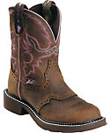 Justin Women's Aged Bark Justin Gypsy Work Boots