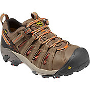 KEEN Men's Flint Low Steel Toe Wide Work Shoes