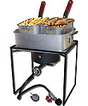 "King Kooker 16"" Fish Fryer with Aluminum Pot and Baskets"