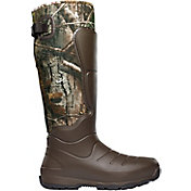 "Lacrosse Men's AeroHead 18"" 7mm Insulated Rubber Hunting Boots"