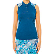 LIJA Women's Tournament Sleeveless Golf Polo