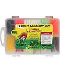 Leland Trout Magnet 152 Piece Soft Bait Kit