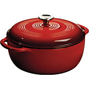 Lodge Red Enamel 6 Quart Dutch Oven