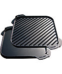 Lodge Cast Iron Single Burner Reversible Grill/Griddle