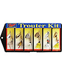Mepps Trouter Kit-Dressed #0 Lure Assortment