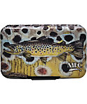 Montana Fly Company Fly Box Poly with Optional Leaf- Currier's Brown Trout