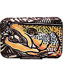 Montana Fly Company Fly Box Poly with Optional Leaf- Estrada's Brown Trout