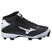 Mizuno Men's 9 Spike Blaze Elite 5 Mid Baseball Cleat